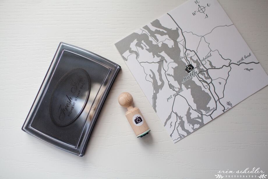 Erin Schedler Photography packaging keywords: usb, eco friendly, recycle, kraft, prints, map, calligraphy, ellen sontra