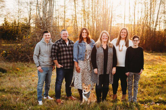fall family photos seattle
