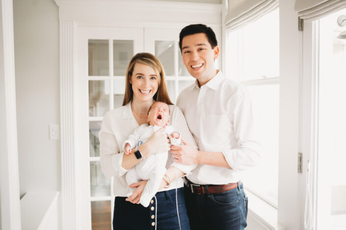 at home newborn photos seattle