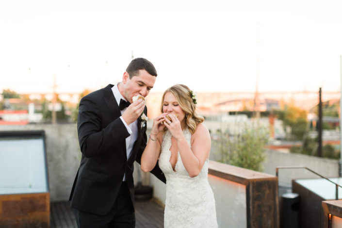 street treats wedding photographer