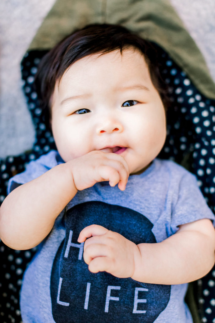 6 month baby photo session