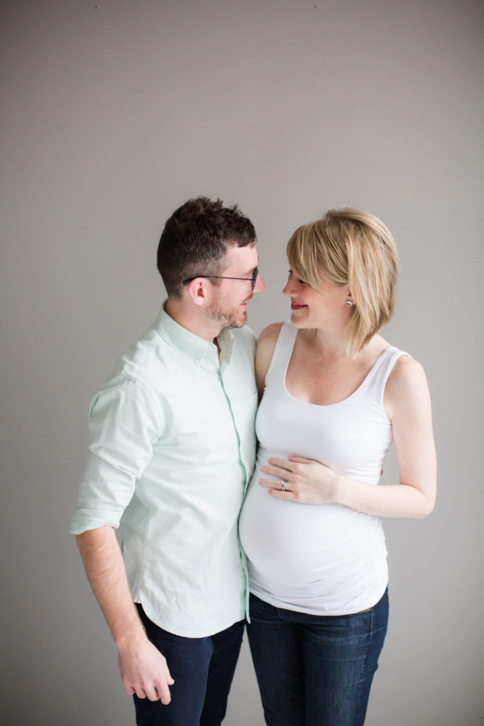 seattle studio maternity photos