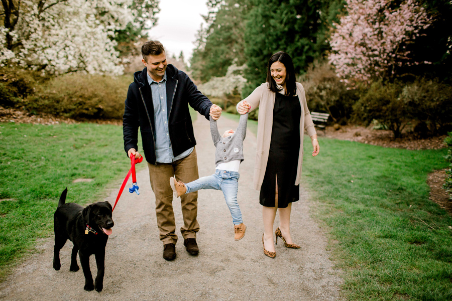 Styled Family Session | Spring at the Arboretum