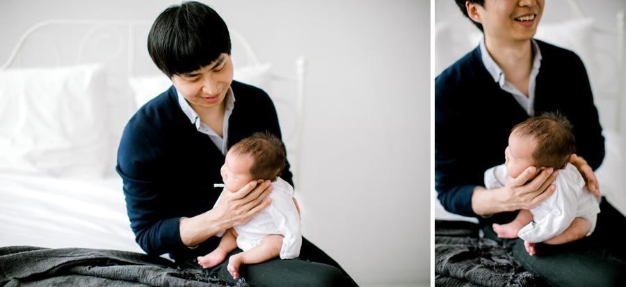 seattle newborn studio photographer