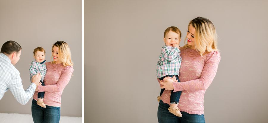 studio baby Seattle photographer