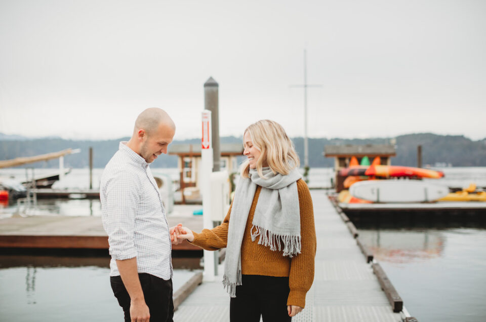 Proposal Photography / Alderbrook Resort and Spa