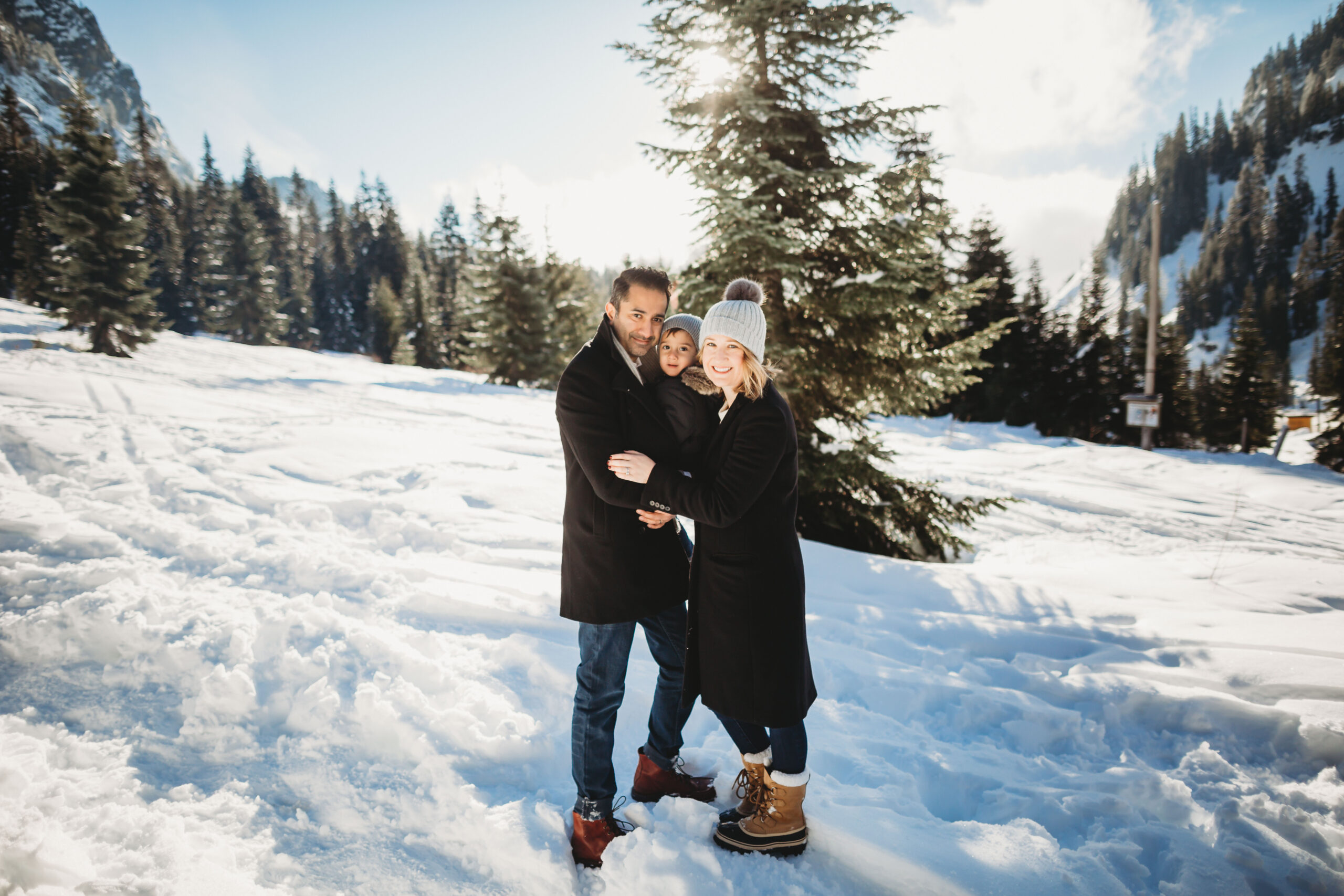 SEATTLE SNOW SESSION PHOTOGRAPHY