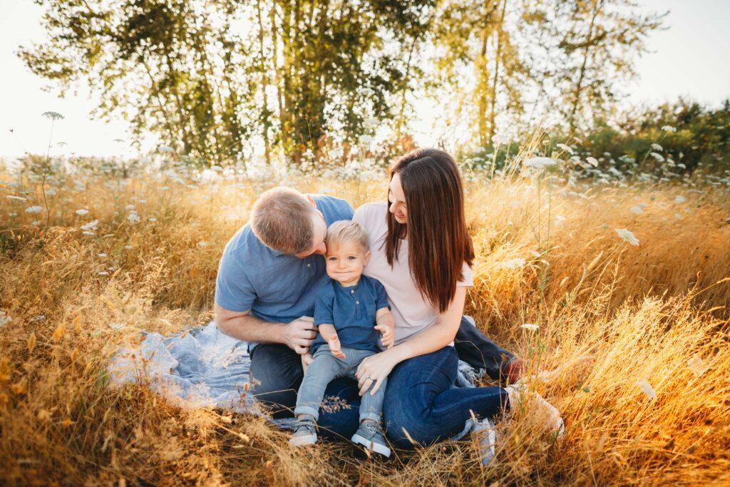 summer family photos seattle