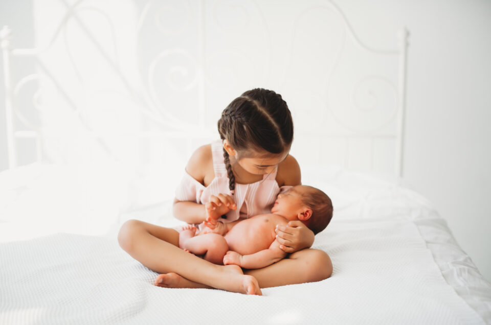 Seattle Newborn Photography in Studio